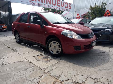 Nissan Tiida Sedan Comfort usado (2010) color Rojo Burdeos precio $99,800