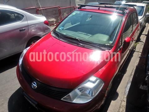Nissan Tiida Sedan Sense Aut usado (2016) color Rojo precio $95,000