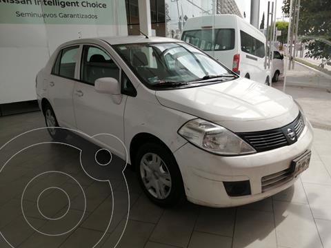 Nissan Tiida Sedan Sense usado (2013) color Blanco precio $110,000