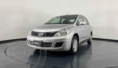 Nissan Tiida Sedan Advance Aut usado (2017) color Plata precio $167,999