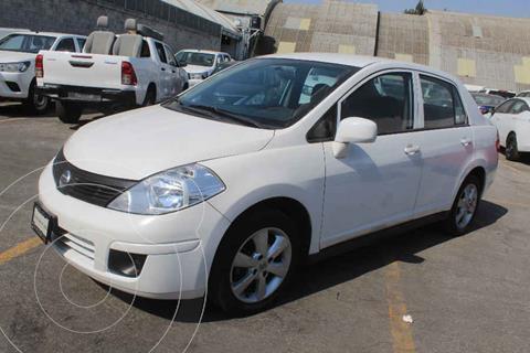 Nissan Tiida Sedan Custom Aut Ac usado (2012) color Blanco precio $105,000
