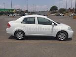 Nissan Tiida Sedan Sense Aut usado (2014) color Blanco precio $95,000