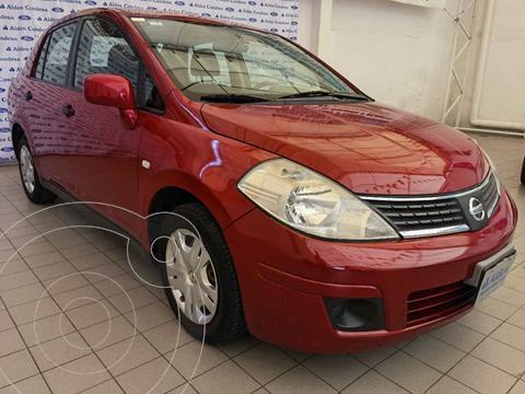 Nissan Tiida Sedan Custom Ac usado (2010) color Rojo precio $92,000