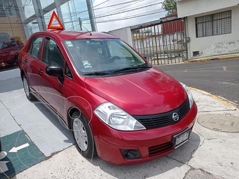 Nissan Tiida Sedan Drive usado (2015) color Rojo Burdeos precio $115,000