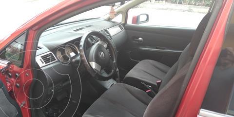 Nissan Tiida Sedan S 1.6L usado (2008) color Rojo precio $22,000