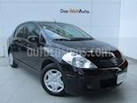 Foto venta Auto usado Nissan Tiida Sedan Sense Aut color Negro precio $149,000