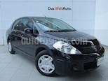 Foto venta Auto usado Nissan Tiida Sedan Sense Aut (2016) color Negro precio $149,000
