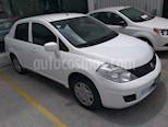 Foto venta Auto usado Nissan Tiida Sedan Sense Aut (2015) color Blanco precio $125,000