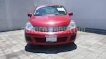 Foto venta Auto usado Nissan Tiida Sedan Sense (2014) color Rojo Burdeos precio $119,000