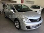 Foto venta Auto usado Nissan Tiida Sedan TIIDA ADVANCE T/M (2014) color Plata precio $125,000
