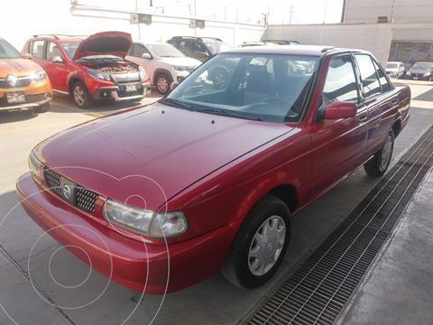 Nissan Tsuru GS II Ac usado (2017) color Rojo Burdeos precio $135,000