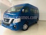 Foto venta Auto usado Nissan Urvan 15 Pas Amplia Aa (2018) color Azul precio $399,900