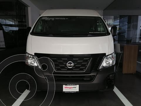 Nissan Urvan Panel Ventanas Amplia Pack Seguridad usado (2020) color Blanco financiado en mensualidades(enganche $179,830 mensualidades desde $8,403)