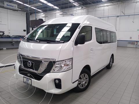 Nissan Urvan 15 Pas Amplia Aa usado (2019) color Blanco precio $449,000