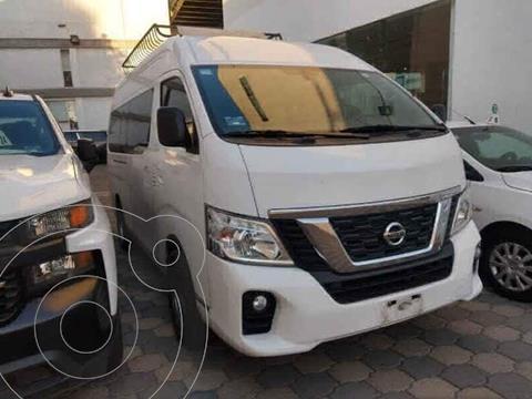 Nissan Urvan 15 Pas Amplia Aa usado (2018) color Blanco precio $399,000
