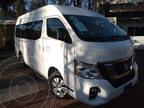 Nissan Urvan 15 Pas Amplia Aa Pack Seguridad usado (2020) color Blanco precio $515,000