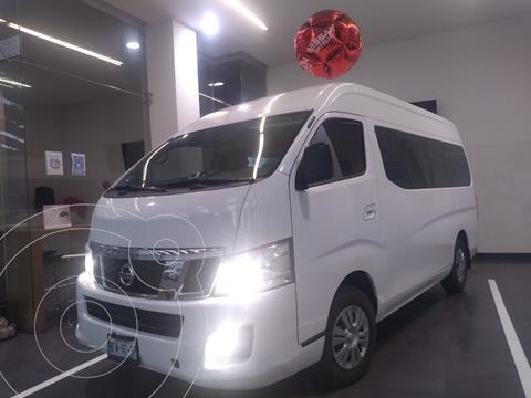 Nissan Urvan 15 Pas Amplia Aa usado (2017) color Blanco precio $350,000