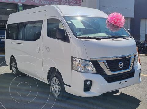 Nissan Urvan 15 Pas Amplia Aa usado (2018) color Blanco financiado en mensualidades(enganche $205,000 mensualidades desde $4,986)