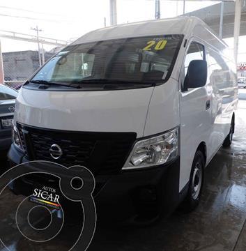 Nissan Urvan Panel Amplia Aa Pack Seguridad usado (2020) color Blanco precio $409,000