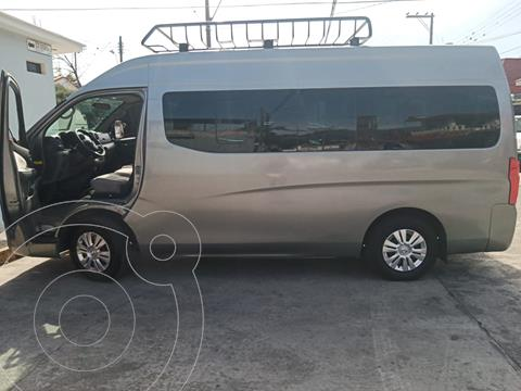 Nissan Urvan 12 Pas Aa Pack Seguridad usado (2015) color Plata precio $325,000