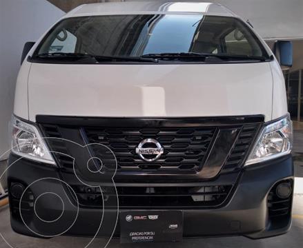 Nissan Urvan Panel Ventanas Amplia Pack Seguridad usado (2021) color Blanco precio $430,000