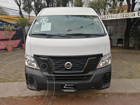 Nissan Urvan DV Panel Larga Toldo Alto 5P usado (2018) color Blanco precio $340,000