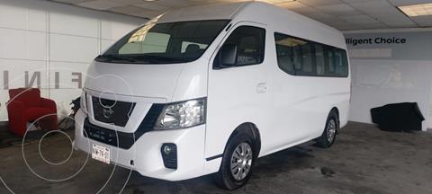 Nissan Urvan 15 Pas Amplia Aa usado (2020) color Blanco precio $498,000