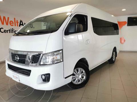 Nissan Urvan 15 Pas Amplia Pack Seguridad usado (2017) color Blanco precio $415,000