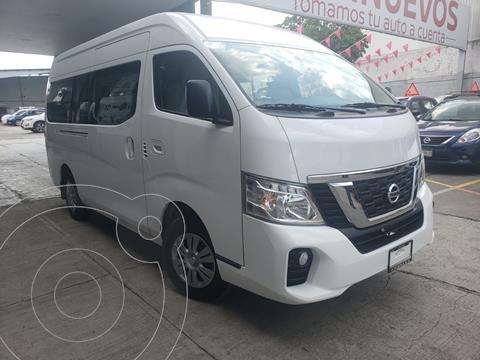 Nissan Urvan 15 Pas Amplia Aa Pack Seguridad usado (2020) color Blanco precio $519,800