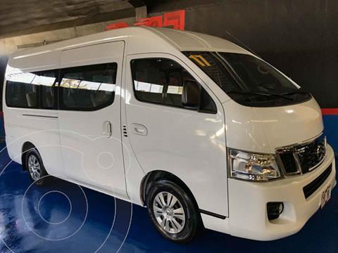 Nissan Urvan Panel Amplia Aa usado (2017) color Blanco precio $345,000