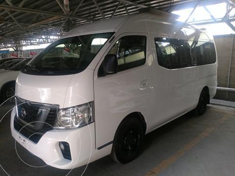 Nissan Urvan 15 Pas Amplia Aa Pack Seguridad usado (2019) color Blanco precio $437,000
