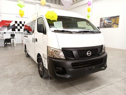 Nissan Urvan Panel Amplia usado (2017) color Blanco precio $330,000