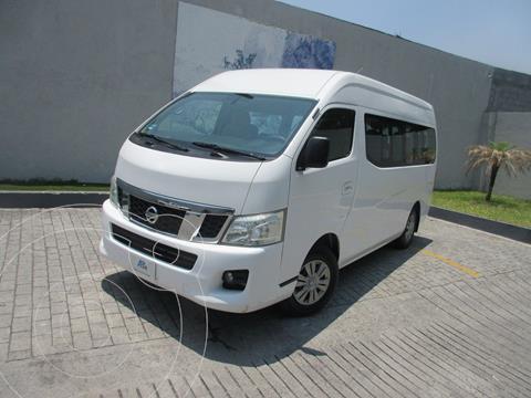 Nissan Urvan 15 Pas Amplia  usado (2015) color Blanco precio $295,000