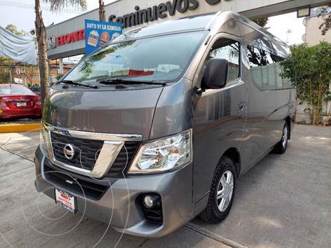 Nissan Urvan 15 Pas Amplia Pack Seguridad usado (2020) color Gris precio $529,000