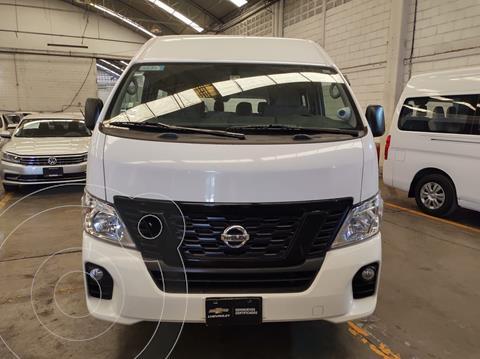Nissan Urvan 15 Pas Amplia Pack Seguridad Die usado (2019) color Blanco precio $485,000