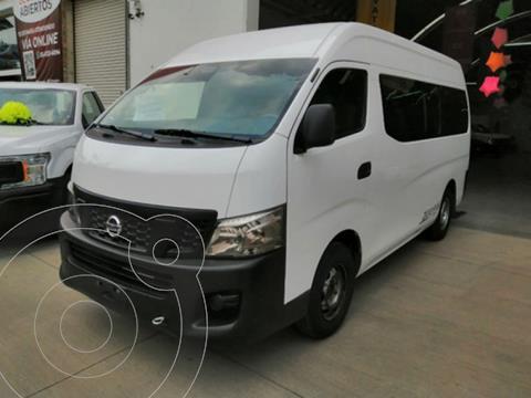 Nissan Urvan 2.5 15 Pas Amplia Aa Mt usado (2017) color Blanco precio $330,000