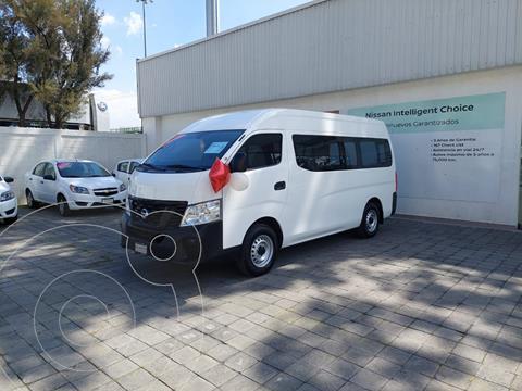 Nissan Urvan 15 Pas Amplia Aa usado (2020) color Blanco precio $480,000