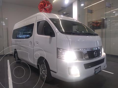 Nissan Urvan 12 Pas Aa usado (2017) color Blanco precio $350,000