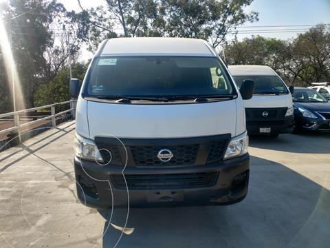 Nissan Urvan Panel Amplia Aa usado (2016) color Blanco financiado en mensualidades(enganche $62,005 mensualidades desde $7,838)