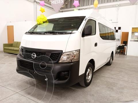 Nissan Urvan Panel Ventanas Amplia usado (2017) color Blanco precio $330,000