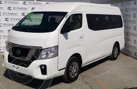 Nissan Urvan 15 Pas Amplia Aa Pack Seguridad usado (2018) color Blanco precio $395,000