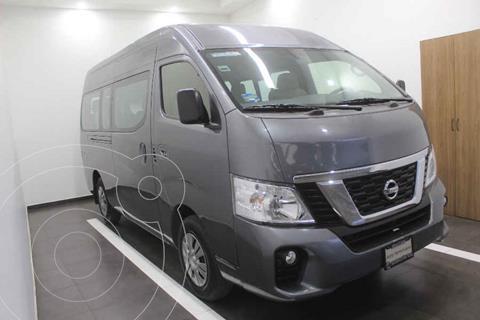 Nissan Urvan 15 Pas Amplia Pack Seguridad usado (2018) color Gris precio $465,000