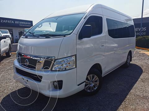 Nissan Urvan 12 Pas Aa usado (2017) color Blanco precio $455,000