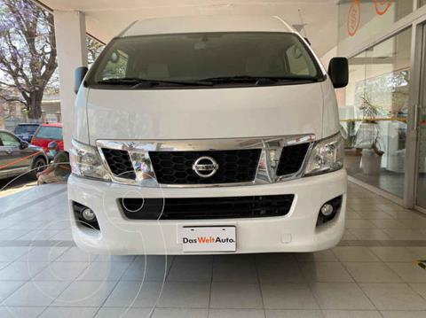 Nissan Urvan 15 Pas Amplia Aa usado (2017) color Blanco precio $373,000