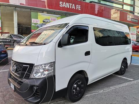 Nissan Urvan 15 Pas Amplia Aa usado (2020) color Blanco precio $420,000