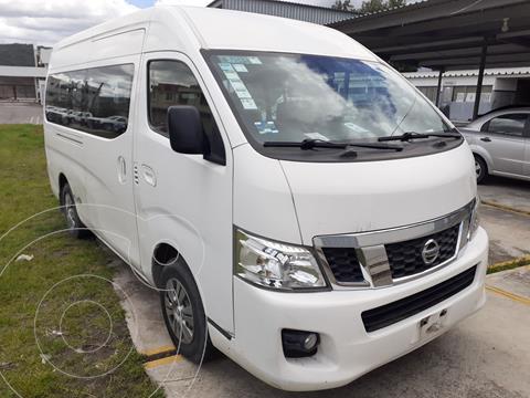 Nissan Urvan 15 Pas Amplia  usado (2016) color Blanco precio $380,000