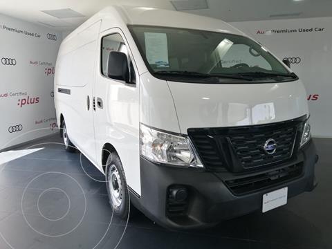 Nissan Urvan Panel Ventanas Amplia Pack Seguridad usado (2021) color Blanco financiado en mensualidades(enganche $186,027 mensualidades desde $10,330)