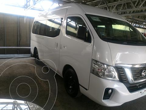 Nissan Urvan 15 Pas Amplia Aa Pack Seguridad usado (2019) color Blanco financiado en mensualidades(enganche $104,082 mensualidades desde $11,992)