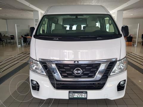 Nissan Urvan 15 Pas Amplia  usado (2020) color Blanco precio $459,900