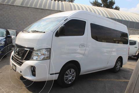 Nissan Urvan 15 Pas Amplia Pack Seguridad usado (2018) color Blanco precio $375,000